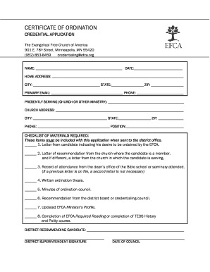picture regarding Printable Ordination Certificate named How In direction of Fill Out A Certification Of Ordination - Fill On the net