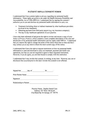 photo about Free Printable Hipaa Forms known as Free of charge hipaa compliance sorts obtain - Fill Out On the net