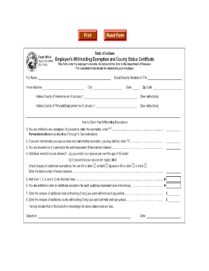 State Of Indiana Form 48845 - Fill Online, Printable, Fillable ...
