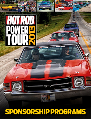 HOT ROD Power Tour Overview Brochure - source interlink media