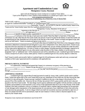 Condo Lease Agreement Template Forms Fillable Printable Samples - Condo rental agreement template