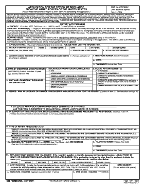 dd form 293 2016 fill online printable fillable blank