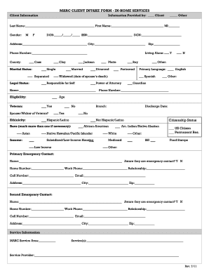 Free Non Medical Home Care Forms - Fill Online, Printable ...