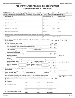 Medi Cal Renewal Form - Fill Online, Printable, Fillable, Blank ...