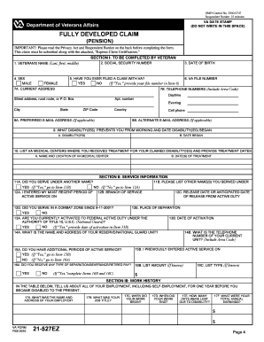 completing va form 21-2680 Templates - Fillable & Printable ...