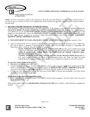 nc association of realtors commercial lease agreement 592 t form