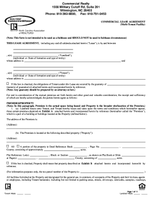 lease with multiple tenants form