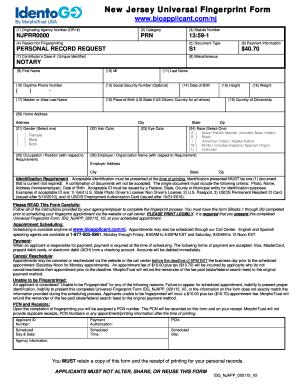 2015-2017 Form NJ IDG NJAPP Fill Online, Printable, Fillable ...