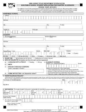 New Jersey State Department Of Education Form 407 1 - Fill Online ...