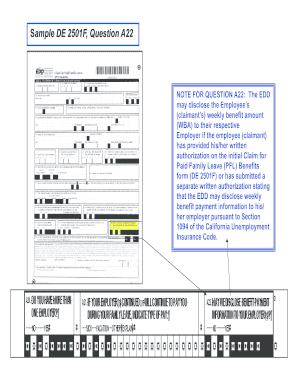 graphic about Printable De 2501 Claim Form named De 2501f - Fill On line, Printable, Fillable, Blank PDFfiller