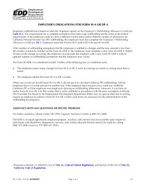 Edd Ca - Fill Online, Printable, Fillable, Blank | PDFfiller