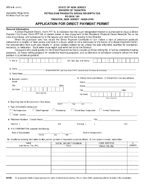 new jersey ppt form