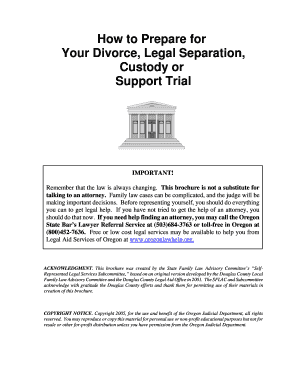 Editable oregon self proving affidavit will fillable printable how to prepare for your divorce legal separation custody or support trial important solutioingenieria Gallery