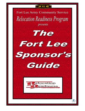100090727 Da Form Sponsorship Examples on