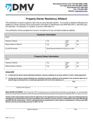 Dmv property owner residency affidavit fill online printable dmv property owner residency affidavit rate this form altavistaventures Choice Image