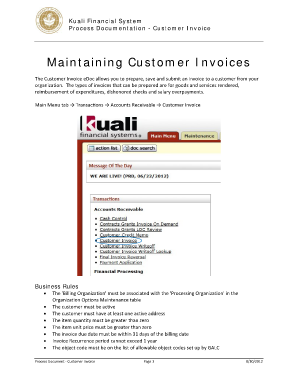 commercial invoice lynden form