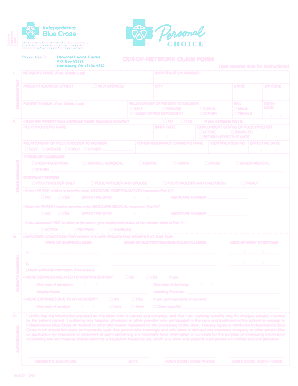 blue cross blue shield claim form new york Templates - Fillable ...