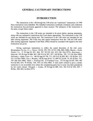 Illinois pattern jury instructions civil 700. 00. State of.