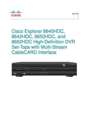 fillable online cisco 4026881a user guide consumer cisco rh pdffiller com Cisco 8642HDC External Hard Drive 8642HDC Hack