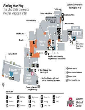 Fillable Online medicalcenter osu Map and Directions - The Ohio ...