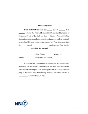 20 Printable sample trust agreement Forms and Templates ...