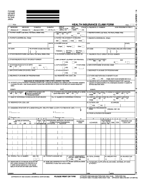 hcfa 1500 form pdf Hcfa 1500 Form Pdf - Fill Online, Printable, Fillable, Blank | PDFfiller
