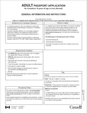 passport canada renewal form french