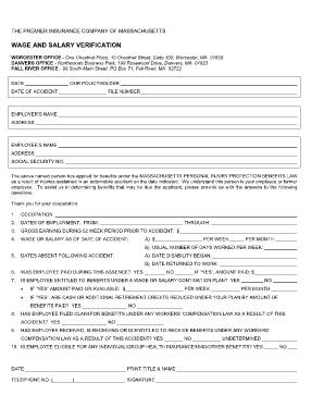 Tgf Salary Verification Form - Fill Online, Printable, Fillable ...