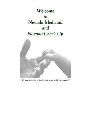 Fillable Online dhcfp state nv Nevada Medicaid and Nevada Check Up ...