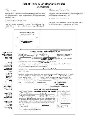 Bill Of Sale Form Missouri Waiver Of Mechanics Lien By Contractor ...