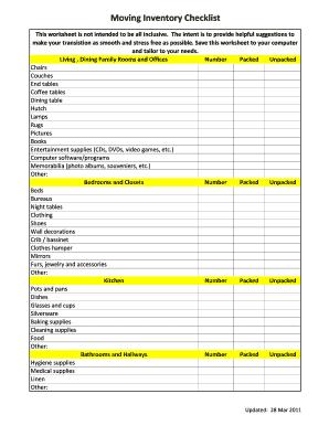 Bill Of Sale Form Ri Move In Move Out Checklist Templates ...