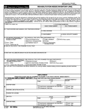 va form 28-1902w Printable how to fill out va form 28 1902w - Edit, Fill Out ...