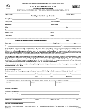 girl scouts f204 form