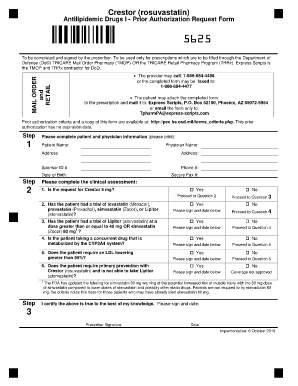 Tricare Prime Prior Auth Form For Crestor - Fill Online, Printable ...