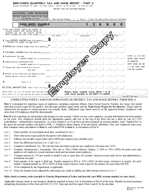 Georgia Dol Employment Verification Form  Printable Employment Verification Form