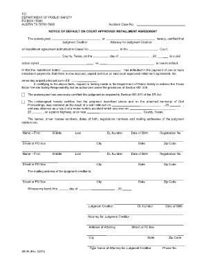 Installment Agreement - Fill Online, Printable, Fillable, Blank ...