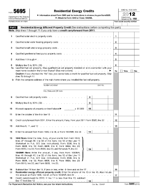 Form 5695 Fillable - Fill Online, Printable, Fillable, Blank ...