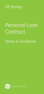 Personal Loan Contract - Kiwibank