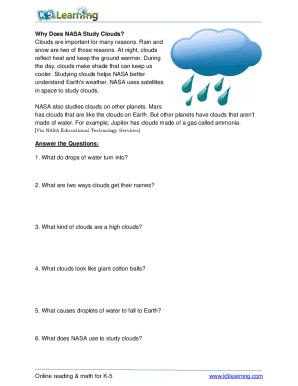 Fillable Online Grade 3 Reading Comprehension Worksheet ...