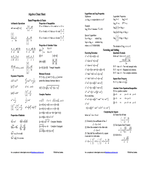 Fillable Online Math Uci Algebra Cheat Sheet Pauls Online Math Notes Math Uci Fax Email Print Pdffiller Also, it can interpolate additional points, if given. fillable online math uci algebra cheat