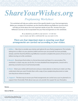 Last Wishes Document - Fill Online, Printable, Fillable, Blank ...