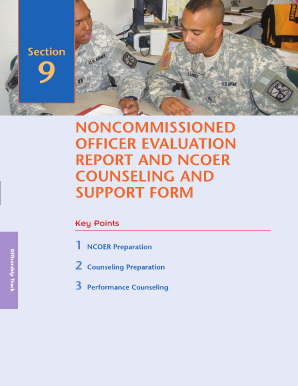 100099727 Officer Evaluation Support Form Example For B on
