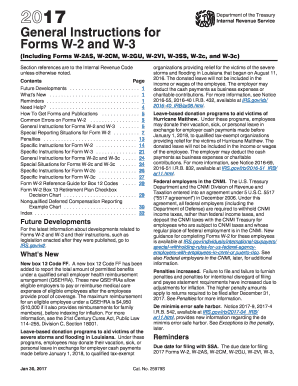 2014 Form IRS Instruction W-2 & W-3 Fill Online, Printable ...