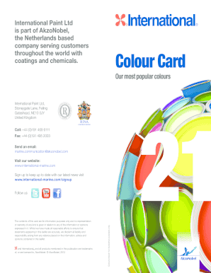 Fillable Online International Paint Ltd Fax Email Print