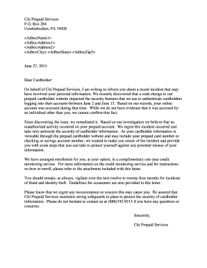 termination letter for cause