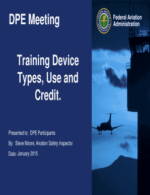 Training Devices - faa