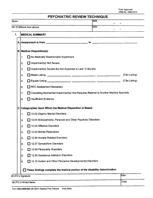 Instructions for form ssa 2 bk