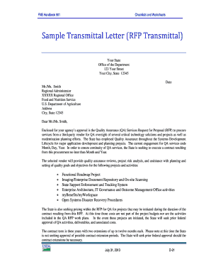 Letter Of Transmittal Template from www.pdffiller.com