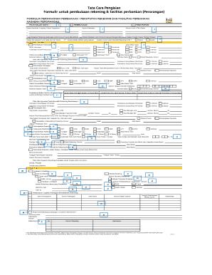 Cara Mengisi Formulir Pembukaan Rekening Tabungan Bjb Bisa Fill Online Printable Fillable Blank Pdffiller