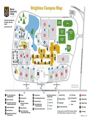 Fillable Online monroecc mcc brighton campus map 11 21 16
